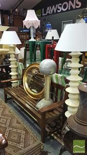 Sale 8341 - Lot 1008 - Pair of Ceramic Standard Lamps