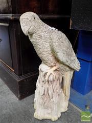 Sale 8407T - Lot 2003 - Concrete Bird Garden Figure