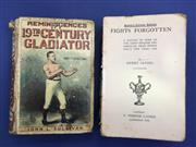 Sale 8419A - Lot 19 - Sullivans Memoirs - a fair copy of Reminiscences of a 19th Century Gladiator by John L Sullivan (Routledge 1892); t/w Fights Forgott...