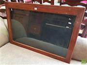 Sale 8469 - Lot 1012 - A vintage timber notice board