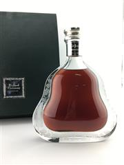 Sale 8571 - Lot 754A - 1x Hennessy Richard Hennessy Cognac - Baccarat crystal decanter with stopper in presentation box