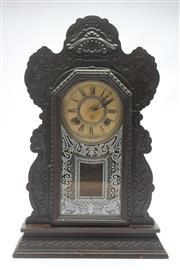 Sale 8681 - Lot 59 - Ansonia Cottage Clock