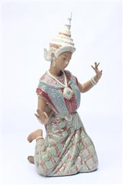 Sale 8710 - Lot 15 - Lladro Figure Of A Thai Dancer