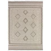 Sale 8880C - Lot 53 - India Natural Maymana Kilim Rug, 160x230cm, Handspun Natural Wool