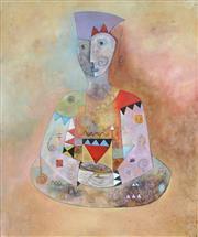 Sale 8958 - Lot 2006 - Kerryl Shirley - Woman Philosopher 119 x 99 cm
