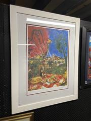 Sale 8932 - Lot 2031 - Marc Chagall Decorative Print, 105 x 82cm (gallery frame)