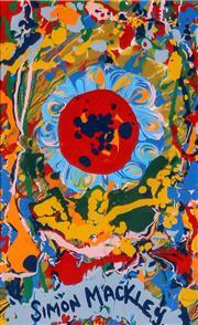 Sale 9002A - Lot 5003 - Simon Mackley (1967 - ) - A Centre of Attention 17 x 11 cm