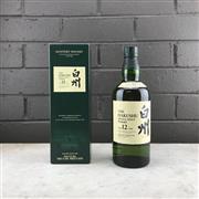 Sale 9062W - Lot 618 - The Hakushu Distillery 12YO Single Malt Japanese Whisky - 43% ABV, 700ml in box
