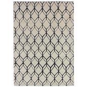 Sale 9082C - Lot 18 - India Diamond Moroc Design Rug, 160x230cm, Handspun Wool