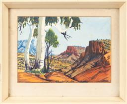 Sale 9170H - Lot 40 - Claude Pannka, watercolour, 25cm x 35cm
