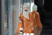 Sale 8324 - Lot 6 - Republic Period Ceramic Elder Figure