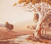 Sale 8592 - Lot 2001 - Victor Robert Watt (1886 - 1970) - Near Cowra 25 x 29cm