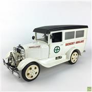 Sale 8649R - Lot 78 - Vintage Ambulance Form Whiskey Decanter (Empty) (L: 42cm)