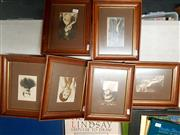 Sale 8671 - Lot 2078 - 6 Vintage Framed Photographs incl French