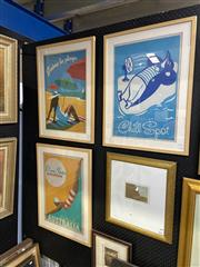 Sale 8888 - Lot 2015 - Group of Three Tourist Advertising Posters by Anderson Design