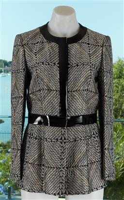 Sale 9120K - Lot 11 - A Giorgio Armani acetate button up coat; with acrylic lining, size US 38