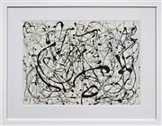 Sale 8301A - Lot 26 - Jackson Pollock (1912 - 1956) - No. 14 52 x 71cm (frame size 82 x 104cm)