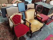 Sale 8601 - Lot 1530 - Six Varied Dining Chairs