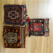 Sale 8717C - Lot 99 - 3 x Persian Tobra 40cm x 40cm