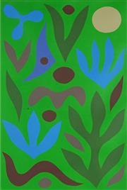 Sale 8881 - Lot 514 - John Coburn (1925 - 2006) - Spring 80 x 53.5 cm