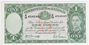 Sale 8935 - Lot 33 - 1942 One Pound Note Armitage/Mcfarland (Uncirculated)