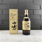 Sale 9062W - Lot 614 - The Yamazaki Distillery 12YO Single Malt Japanese Whisky - 43% ABV, 700ml in box