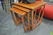 Sale 8310 - Lot 1051 - G-Plan Teak Nest of Tables