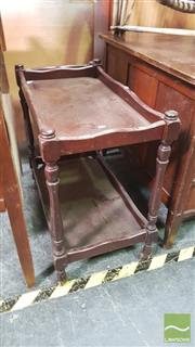 Sale 8390 - Lot 1560 - Timber Drinks Trolley