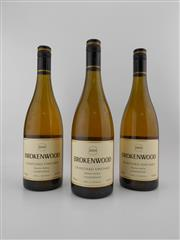 Sale 8498 - Lot 1833 - 3x 2004 Brokenwood Graveyard Vineyard Chardonnay, Hunter Valley