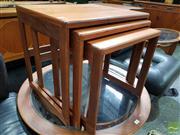 Sale 8493 - Lot 1078 - G-Plan Teak Nest of Tables