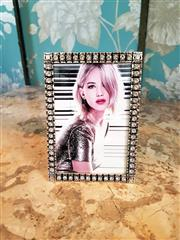 Sale 8500A - Lot 60 - A Swarovski crystal photo frame - Condition: As New - Measurements: 14cm high x 10cm wide