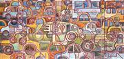 Sale 8720 - Lot 2012 - Michael Barnett (1957 - ) - Transivity, 1989 64.5 x 130.5cm