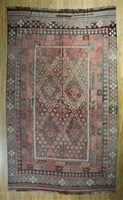 Sale 8717C - Lot 100 - Afghan Kilim 389cm x 288cm