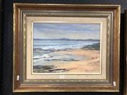 Sale 8797 - Lot 2002 - Rita Finger - Port Lonsdale oil on canvas board, 49.5 x 59.5cm, signed