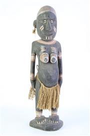 Sale 8877 - Lot 5 - PNG Cultural Figure H:50cm