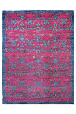 Sale 9141C - Lot 38 - AFGHAN FINE REVIVAL DAMASK, 270X360cm, Handspun Ghazni Wool