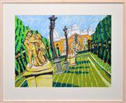 Sale 8286 - Lot 588 - Bernard Ollis (1951 - ) - Observatory Gardens, 2010 58 x 76cm