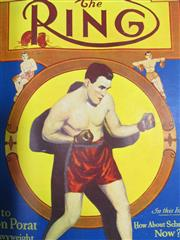 Sale 8419A - Lot 22 - The Ring 1930 - an original bound set of The Ring from February 1930 to January 1931, with great covers