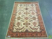 Sale 8539 - Lot 1009 - Cadrys Afghan Fine Woollen Hezari Rug (248 x 170cm)