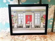 Sale 8500A - Lot 61 - A Tiffany La Belle fashionista glossy print - Condition: As New - Measurements: 40cm wide x 33cm high