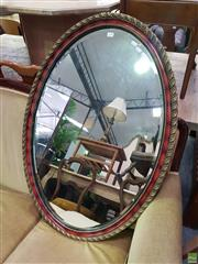 Sale 8601 - Lot 1108 - Gilt Framed Bevelled Edge Mirror