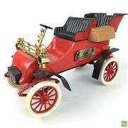 Sale 8649R - Lot 79 - Vintage Jim Beam Fire Truck Form Bourbon Decanter (Missing Decorative Cap) (L: 35cm)