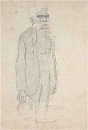 Sale 8916 - Lot 569 - Norman Lindsay (1879 - 1969) - Springwood Jacky 33 x 23 cm