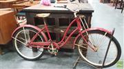 Sale 8395 - Lot 1010 - Vintage American Schwinn Pushbike, Circa 1940s
