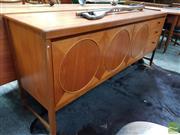 Sale 8493 - Lot 1082 - Nathan Circles Teak Sideboard