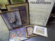 Sale 8582 - Lot 2137 - An Assortment of (6) Framed Decorative Prints incl. Monet (framed/various sizes)