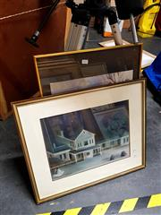 Sale 8686 - Lot 2075 - Two Framed Prints