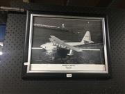Sale 8707 - Lot 2086 - Spruce Goose Print