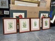Sale 9072 - Lot 2087 - Framed Botanical Prints & Others