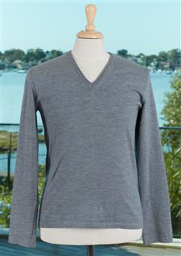 Sale 9120K - Lot 91 - A Hugo Boss mens woollen sweater; with v neck line, size M